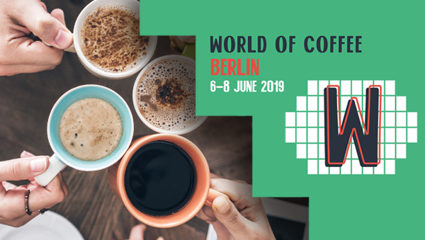 LF y GEV en World of Coffee Berlin 2019